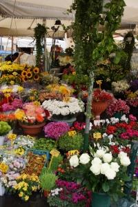 Flowers on the Campo di Fiori, of course