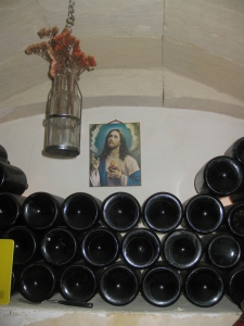 Shrine to wine