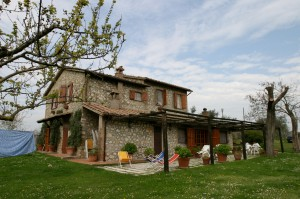 Our first vacation rental, in Umbria