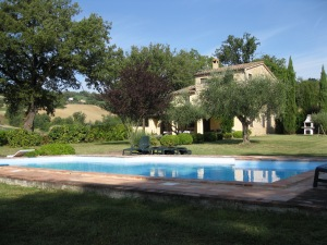 Our rental in Le Marche