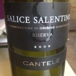 Salice Salentino, 100% negroamaro