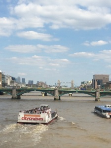 Cruising the Thames