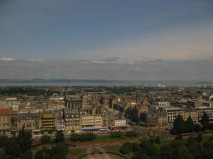 View of Edinburgh to the Firth of Forth