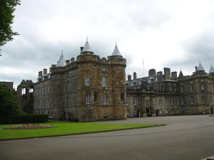The Palace of Holyrood House