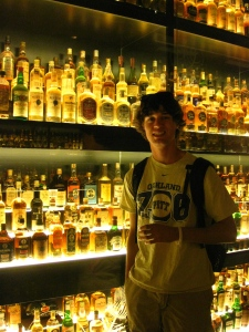 Ian and a small part of the Diageo Claive Vidiz Collection