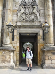 Holyrood House front door