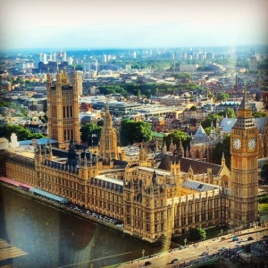 Westminster from the Eye