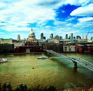 Rico's view from the Tate